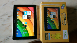 """Tablette acer iconia 10"""" never used in the box"""