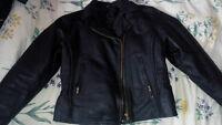 Leather Women's Motorcycle Jacket