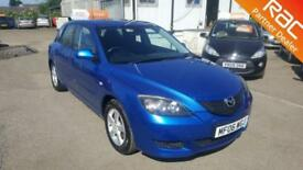 2006 Mazda Mazda3 Hatch 5Dr 1.6 105 TS Petrol blue Manual