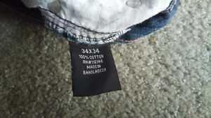 Two Pairs National Outfitters Jeans 34x34 Kawartha Lakes Peterborough Area image 8