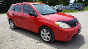 2005 Toyota Matrix -  with TOUCH screen  DVD player, Bluetooth..