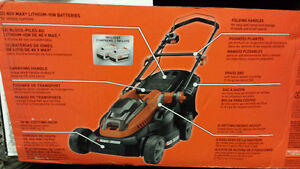 Black & Decker 16inch 40v cordless electric mower