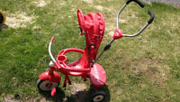 Radio Flyer stroller with Tri-cycle conversion