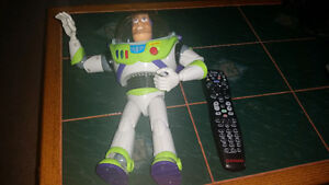 Large Buzz Lightyear new batteries included works great!!!!!!!!