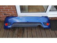 Ford Fiesta ST back bumper
