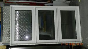 2 X Fenêtre PVC avec verre énergétique