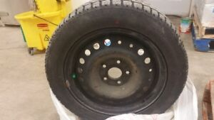 Winter Tires From 2015 Honda Civic SI