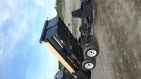 Dump trailer services
