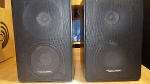 PAIRE DE SPEAKERS * REALISTIC MINIMUS 11 BLACK *