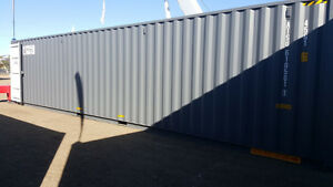 40' sea container high cube with doors at both ends like new