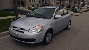 2007 Hyundai Accent with safety, emissions test and car proof !