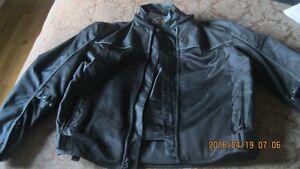 Joe Rocket black motorcycle jacket
