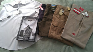 Brand New Men's Clothing. Size XL & 40.