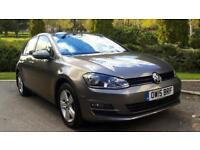 2015 Volkswagen Golf 1.6 TDI 105 Match DSG Automatic Diesel Hatchback