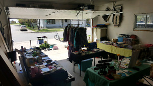 Garage sale at 3302 eagle crescent! Stuff for everybody