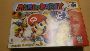 Mario Party Complete In Box Excellent Condition