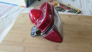 Vintage 1960's Triumph/BSA Motorcycle Rear Tail lights