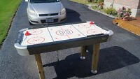 Air Hockey Table Stand Up