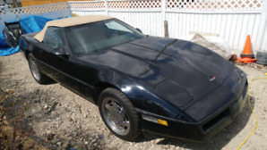 1989 corvette 2 door convertable
