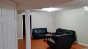 2 Bedroom Basement apartment for rent in brampton