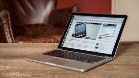 "APPLE MACBOOK PRO RETINA 13"" 2.4GHZ I5 256GB SSD 8GB RAM 2013-14 SOFTWARE MS OFFICE ADOBE CS6"