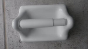 ECE Ceramic Accessories - TP Holder and Towel Bar Holder