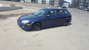 2002 Mazda Protege5 command start winter tires alpine stereo HID