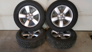 275/60R20 tires and dodge ram 1500 rims