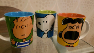 Brand New Peanuts Mugs $15