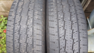 2 All Season Tires 245 70R 17  in very good condition