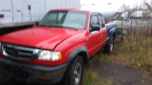 PARTING out 2003 mazda  B4000 4x4 CALLS ONLY