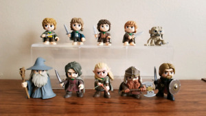 Funko Lord of the Rings Mystery Minis Fellowship Pop Set of 10