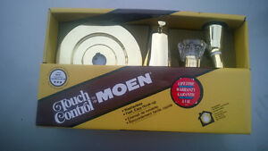 Touch control- Moen shower trim set + cartridge - gold color
