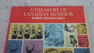 A Treasury of Canadian Humour, Robert Thomas Allen, 1967 Kitchener / Waterloo Kitchener Area image 2