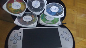 Psp with some games