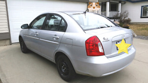 Reduced to Sell- HYUNDAI ACCENT 2009-SEDAN-Low Kms/OBO