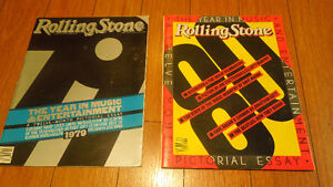 Rolling Stone Magazine Yearbooks