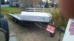 8ft6 wide 20 ft dual axle 2500lb axles
