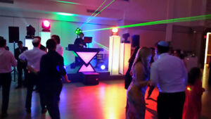 Custom DJ Booth 3 Pc - with Built in LED Lights + Controller