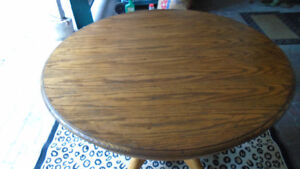Furniture Oak Table - $225