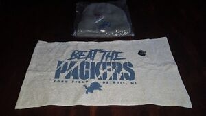 Detroit Lions Gear – Toque and towel – best offer