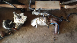 Nissan rogue 2007 to 2013 exhaust .diff. strut.shocks.rear chamb