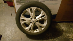 2012 ford fusion se factory rims