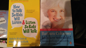 Parenting books (all for $8) (new mint condition)