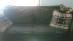 COUCH AND LARGE CHAIR FOR SALE