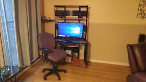 ordinateur avec meuble