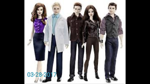 Looking for Twilight Barbie dolls