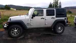 For Sale 2007 Jeep Wrangler Unlimited