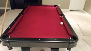 5x7 pool table for sale
