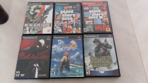 Lot de jeux ps2 playstation 2